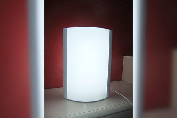Leuchtdisplay Konvex